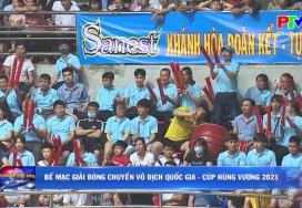 Bế mạc Giải bóng chuyền vô địch Quốc gia - Cup Hùng Vương 2021