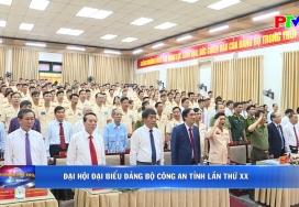 Đại hội đại biểu Đảng bộ Công an tỉnh lần thứ XX