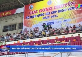 Khai mạc Giải bóng chuyền vô địch Quốc gia Cup Hùng Vương năm 2021