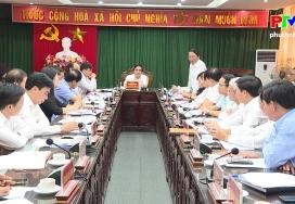 HĐND tỉnh họp phiên thường kỳ chuẩn bị cho kỳ họp thứ Chín