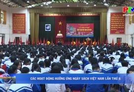 Các hoạt động hưởng ứng ngày sách Việt Nam lần thứ 8