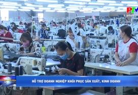 Hỗ trợ doanh nghiệp khôi phục sản xuất, kinh doanh