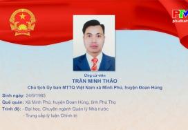 Chương trình hành động của ông Trần Minh Thảo