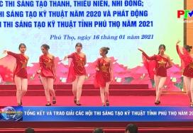 Tổng kết và trao giải các Hội thi sáng tạo kỹ thuật tỉnh Phú Thọ năm 2020