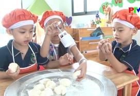 Trường Mầm non Đất Việt chú trọng giáo dục toàn diện cho trẻ
