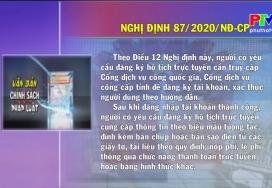 Văn bản chính sách ngày 13-8-2020