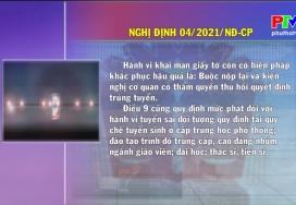 Văn bản chính sách ngày 30-1-2021