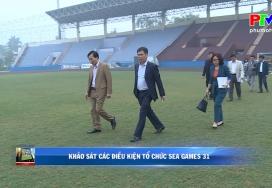 Việt Trì tổ chức bóng đá nam Sea Game 31