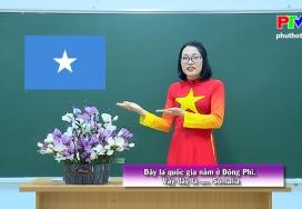 Vui học tiếng Anh - Cờ các nước