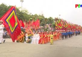 Tỉnh Phú Thọ dâng hương tưởng niệm các Vua Hùng