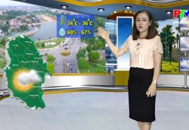 Dự báo thời tiết ngày 8-9-2019