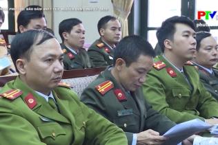 An ninh Phú Thọ - Đảm bảo ANTT Tết Nguyên Đán Canh Tý 2020