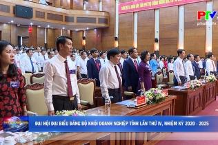 Đại hội Đại biểu Đảng bộ khối doanh nghiệp tỉnh lần thứ IV, nhiệm kỳ 2020 - 2025