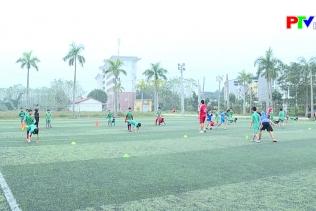Đội U11, U13 Phú Thọ sau 1 tháng luyện tập