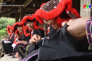 Sắc màu Tây Bắc - Độc đáo trang phục truyền thống dân tộc Dao đỏ