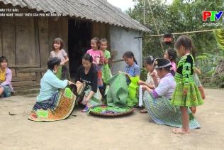 Sắc màu Tây Bắc: Độc đáo nghệ thuật thêu của phụ nữ bản Mỹ Á