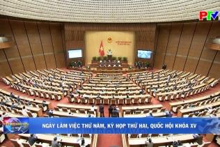Ngày làm việc thứ 5, Kỳ họp thứ Hai, Quốc hội khóa XV