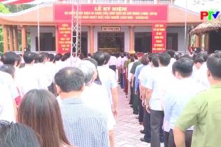 Thành phố Việt Trì dâng hương tưởng niệm Chủ tịch Hồ Chí Minh
