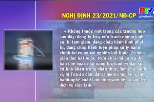 Văn bản chính sách ngày 24-3-2021