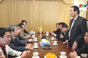 Đoàn công tác tỉnh Phú Thọ thăm và làm việc tại Vương quốc Anh